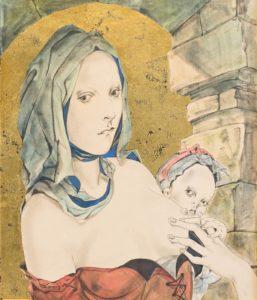 foujita - maternite 1952 newsletter art vient a vient vous 8