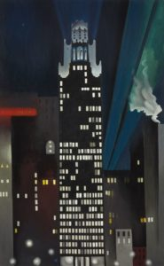 georgia o keeffe - radiator building night 1927 newsletter art comes to you 6