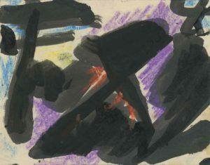 gerard schneider - 1950 sans titre pastel