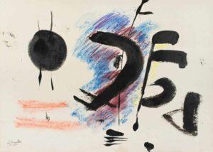 gerard schneider - 1950 untitled india ink