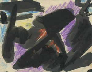gerard schneider - 1950 untitled pastel