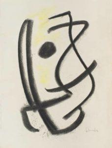 gerard schneider - charcoal untitled 1948