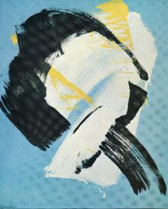 gerard schneider - exhibition galleria civica arte moderna 1970