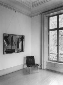 gerard schneider - exposition galerie otto stangl munich allemagne 1952