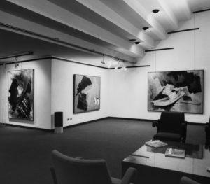 gerard schneider - exposition galleria san fedele milan italie 1968