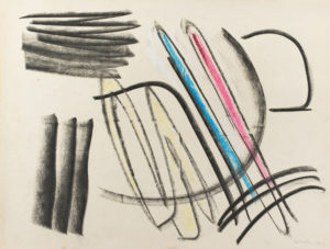 gerard schneider - fusain pastel 1949 newsletter art vient a vous 12