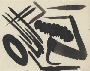 gerard schneider - india ink untitled 1948