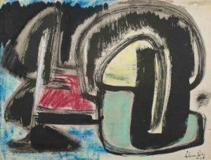 gerard schneider - india ink untitled 1949