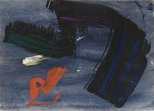 gerard schneider - paper gouache untiled 1962