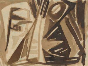 gerard schneider - paper untitled 1944