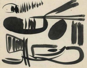 gerard schneider - papier sans titre 1948