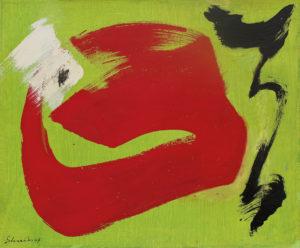 gerard schneider - papier sans titre 1967