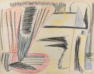gerard schneider - pastel untitled 1948 newsletter art comes to you 12