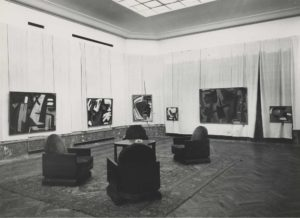 gerard schneider - retrospective schneider 1953 palais des beaux arts bruxelles newsletter art vient a vous 3