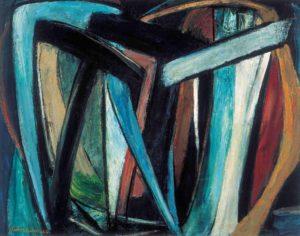 gerard schneider - untitled 1944 oil newsletter art comes to you 3