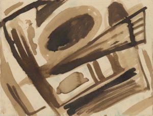 gerard schneider - sans titre 1944 papier