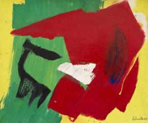 gerard schneider - sans titre acrylique 1967