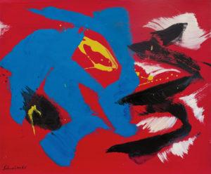 gerard schneider - sans titre acrylique 1967 papier