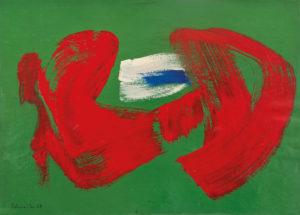 gerard schneider - sans titre acrylique 1968