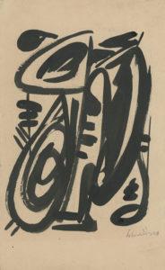 gerard schneider - sans titre papier 1946