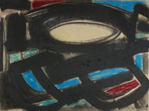 gerard schneider - sans titre papier pastel 1949