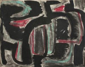 gerard schneider - sans titre pastel 1949