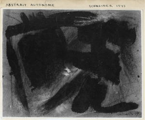 gerard schneider - sans titre tirage photographique 1947