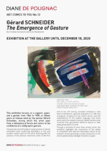 gerard schneider - the emergence of gesturel art comes to you 12