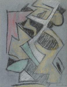 gerard schneider - untitled 1944 newsletter art comes to you 12