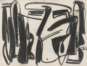 gerard schneider - untitled 1948 newsletter art comes to you 12