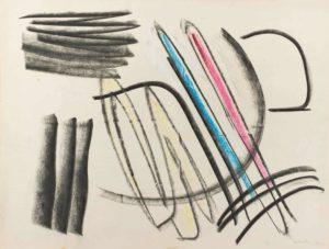 gerard schneider - untitled 1949 paper
