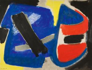 gerard schneider - untitled 1951 newsletter art comes to you 12