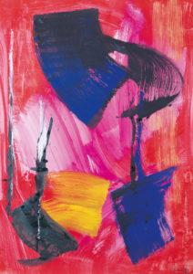 gerard schneider - untitled 1983 newsletter art comes to you 12