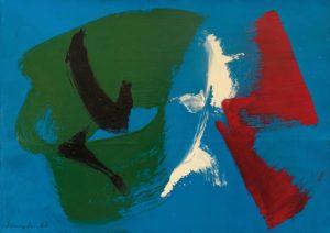gerard schneider - opus 30 i acrylic oil paper 1968