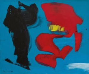 gerard schneider - untitled cardboard acrylic 1967