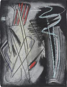 gerard schneider - untitled charcoal 1947
