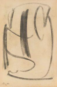 gerard schneider - untitled charcoal paper 1946