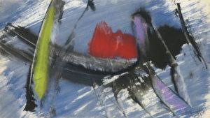 gerard schneider - untitled gouache 1964