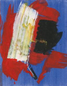 gerard schneider - untitled gouache paper 1968