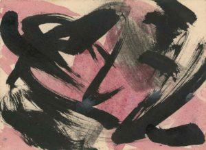 gerard schneider - untitled ink gouache 51