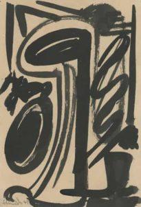 gerard schneider - untitled paper 1945