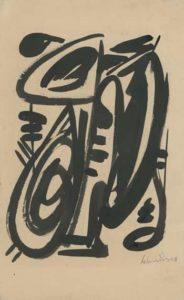 gerard schneider - untitled paper 1946
