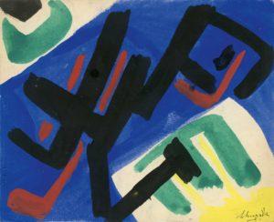 gerard schneider - untitled paper 1951
