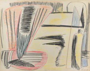 gerard schneider - untitled pencil paper 1948