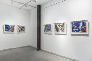 gerard schneider - view exhibition diane de polignac gallery-2020