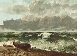 gustave courbet - la mer orageuse 1870 newsletter art comes to you 1