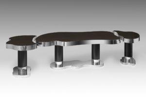 guy de rougemont - 2011 table sculpture work
