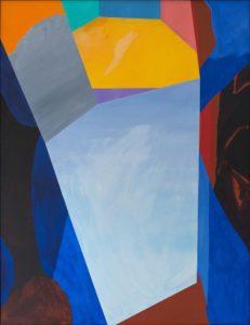 guy de rougemont - calme profondeur painting 1996