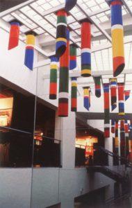 guy de rougemont - cylindres stalactites 1985 newsletter art vient a vous 5