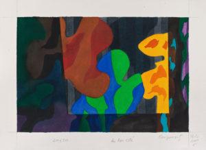 guy de rougemont - du bon cote watercolor 2000
